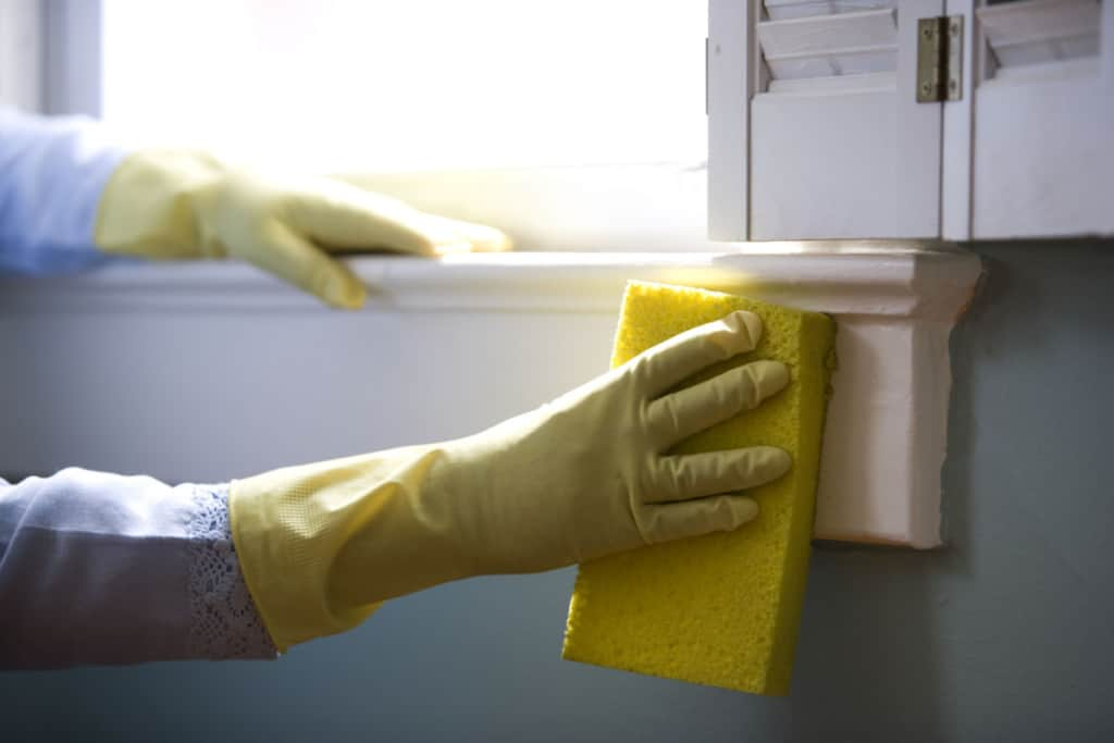 how to increase home value - deep clean and declutter