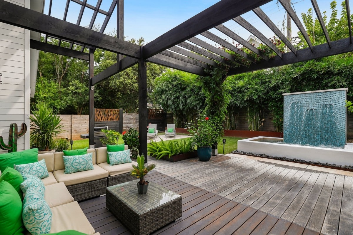 backyard oasis home projects