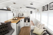 This School Bus Is a Tiny Home … to a Family of 6!
