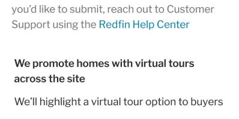 Make your Listing Shine on Redfin with Video Tours and 3D Virtual Walkthroughs