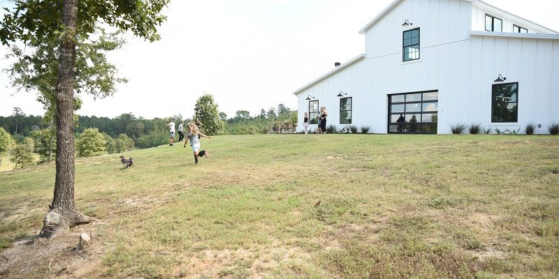 This Home Looks Like a Barn (But Has Enough Room to Be a Small Castle)